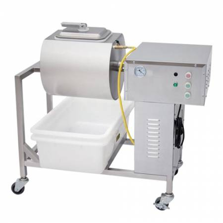 .25 HP Stainless Steel Vacuum Meat Marinator 110v/60hz/1ph | Vacuum Tumblers & Meat Marinators | Zanduco US