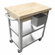 Mobile Food Preparation Table/Cart | Restaurant Equipment | Zanduco US
