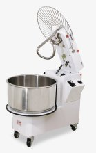 Omcan 46 qt Spiral Dough Mixer with Fixed Head & Bowl 208V/60hz/3ph | Restaurant Equipment | Zanduco CA