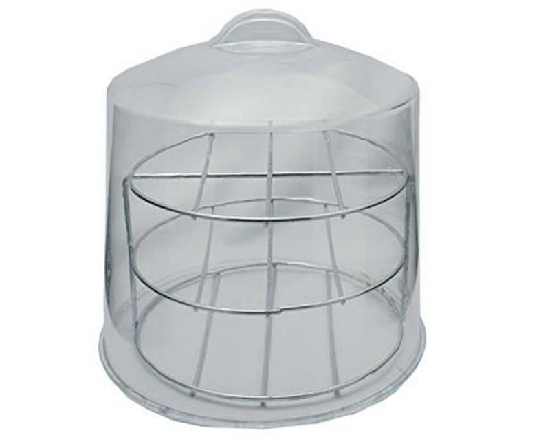 Chrome 3 Tier Stand For 4155 Acrylic Pie And Cover 4156