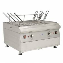 7200 W Countertop Stainless Steel Double Tank Electric Pasta Cooker | Restaurant Equipment | Zanduco US