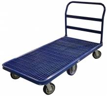 Heavy-Duty Platform Cart - Grilled Deck | Material Handling Transport & Storage | Zanduco US