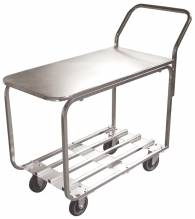 All Stainless Steel Stock Cart | Material Handling Transport & Storage | Zanduco US
