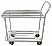 All Welded Stock Cart - Galvanized | Material Handling Transport & Storage | Zanduco US