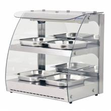 "24"" Two-Shelf Self Serve Heated Display Case"