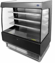 "Zanduco 39"" Open Refrigerated Floor Showcase with 27.2 cu.ft 