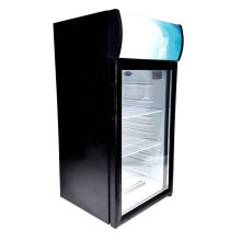 "Zanduco 18"" Countertop Display Refrigerator with 80L Capacity 