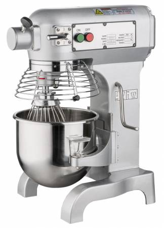10 qt Planetary Mixer with Guard | Floor Model Mixers | Zanduco US