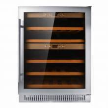 Dual Zone Wine Cooler with 40 Bottle Capacity | Refrigeration Equipment | Zanduco CA
