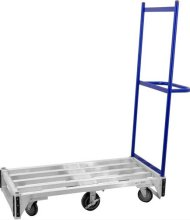 Aluminum Stocking Cart | Material Handling Transport & Storage | Zanduco US