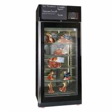 Maturmeat 150kg Cabinet with ClimaTouch and Fumotic – Black Color | Commercial Refrigeration | Zanduco CA