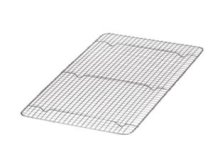 "Stainless Steel Steam Pan Grate 10"" x 18"" - Full Size 