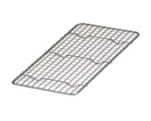 "Stainless Steel Steam Pan Grate 5"" x 10.5"" - Third Size 