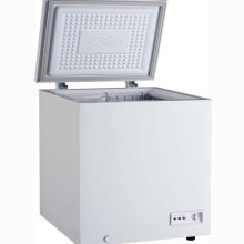 "Zanduco 33"" Chest Freezer with Solid Flat Top 5 cu ft 