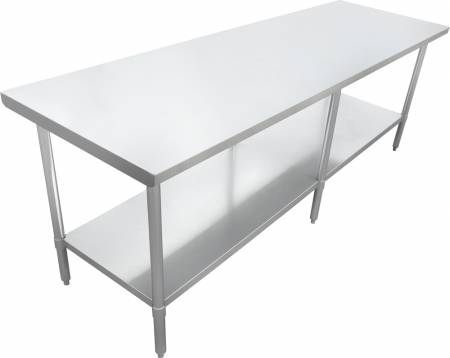 "Zanduco 24"" X 84""-All Stainless Steel Worktable 