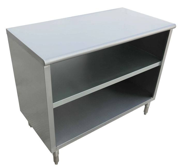 Gauge Stainless Steel Dish Cabinet X X Dish - 36 x 48 stainless steel table