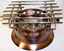 S/S Grates For 4860 Copper Rechaud 4860G | Kitchen Equipment | Zanduco US