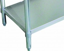 "Zanduco 24"" X 48"" Undershelf For 47000-076 