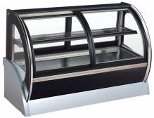 "36"" Curved Glass - Dual Access 4 Cu. Ft. 