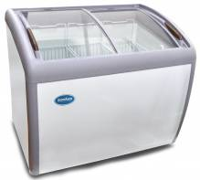 "Zanduco 39"" Ice Cream Display Freezer 