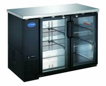 "Zanduco 49"" Heavy Duty Glass Door Bottle Cooler 