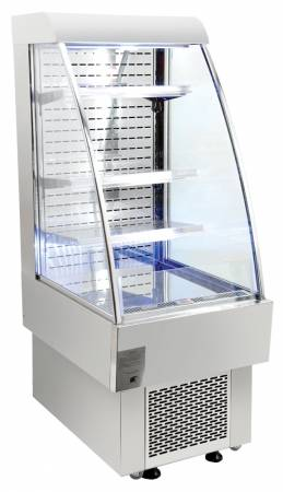 Zanduco Open Refrigerated Display Case with 6.12 Cu. Ft. | Commercial Refrigeration | Zanduco US