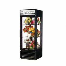 True G4SM-23FC-HC~TSL01 Four Sided Glass Door Floral Case - 23 cu. ft. | Refrigeration Equipment | Zanduco CA
