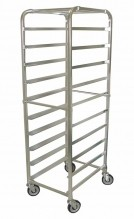 10 Slides  Bun Pan Rack - Aluminum | Material Handling Transport & Storage | Zanduco US
