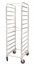 12 Slides Bun Pan Rack - Aluminum | Material Handling Transport & Storage | Zanduco US