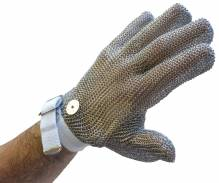 5 Finger Mesh Glove, Reversible - M, Red Strap | Smallwares | Zanduco US