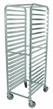 20 Slides Bun Pan Rack - Aluminum | Material Handling Transport & Storage | Zanduco US