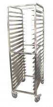 20 Slides Bun Pan Rack - Stainless Steel | Material Handling Transport & Storage | Zanduco US