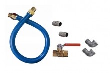"36"" L, Safety System Stationary Gas Connector Kit for Canada, 3/4"" dia. CAN 1675BPEV36 