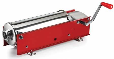 Tre Spade 7kg-Capacity Horizontal Sausage Stuffer With 2-Speed Gear | Kitchen Equipment | Zanduco US