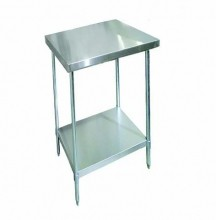 "Zanduco 24"" X 30""-All Stainless Steel Worktable 