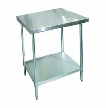"Zanduco 30"" X 36""-All Stainless Steel Worktable 