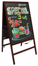 Double sided tempered glass LED write-on Flash Board | Smallwares | Zanduco CA
