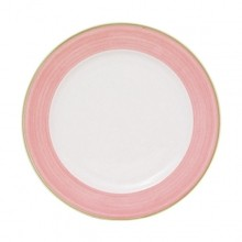 "Pink Cosmo- Plate, 17 cm - 6 3/4"" 24 / case  55COPIN 004 