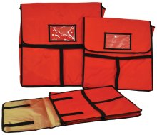 "Insulated Pizza Delivery Bag with Top Handle - 18"" x 18"" 