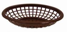 "Discontinued - 9.5"" Basket Brown Oval 80743 