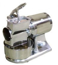 Omcan GR-IT-1119-B - Medium Duty Cheese Grater with Brake Motor - 1.5 HP | Restaurant Equipment | Zanduco CA