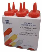Ketchup Squeeze Bottles 8 oz  6 Pack 68186 | Bar Service & Tablewares | Zanduco CA