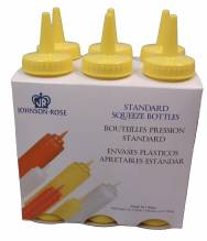 Mustard Squeeze Bottles 8 oz  6 Pack 68286 | Bar Service & Tablewares | Zanduco CA