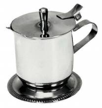 Covered Creamer Stainless Steel 5 oz 7115 | Smallwares | Zanduco US
