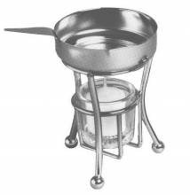Butter melter (Stand+Pan+Glass) 7152 | Kitchen Equipment | Zanduco CA