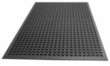 "36"" X 60"" Black Rubber Mat 7965 