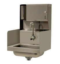 Advance Tabco 7-PS-131 Wall Mount Hand Sink with Hands-Free Electronic Faucet  | Sinks & Dish Room | Zanduco US