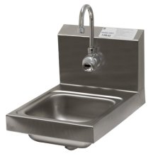 Advance Tabco 7-PS-53 Wall Mount Hand Sink with Hands-Free Electronic Faucet  | Sinks & Dish Room | Zanduco US