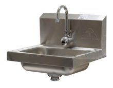 Advance Tabco 7-PS-61 Wall Mount Hand Sink with Hands-Free Electronic Faucet  | Sinks & Dish Room | Zanduco US