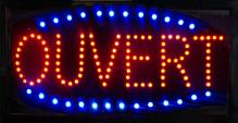 "LED ""Ouvert"" Sign 80101 